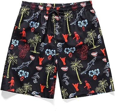 wenyujh - Conjunto de 2 Piezas para Hombre, Camisa Hawaiana ...