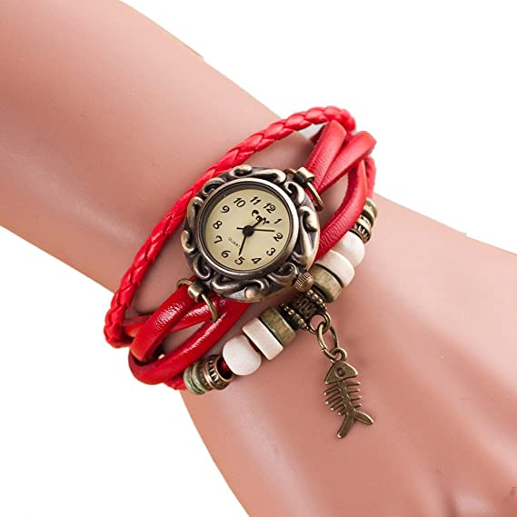 Amazon.com: Womens Bracelet Watches COOKI on Sale Clearance Lady Watches Female watches Cheap Watches for Women-Q4 (Orange): Watches