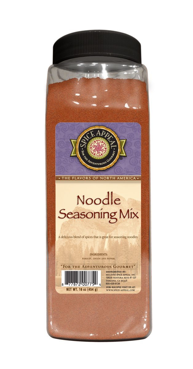 Spice Appeal Noodle Seasoning Mix, 16 Ounce