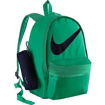 b5563780a186 Nike Kids  Halfday Back To School Backpack (STADIUM GREEN STADIUM  GREEN BINARY