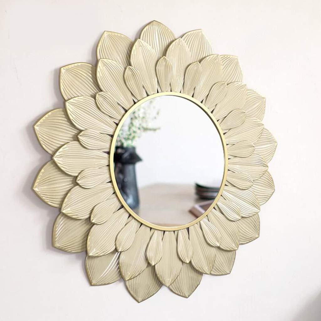 YYHSND Specchio Specchio da toeletta Specchio Specchio da Parete da Ingresso Specchio da Bagno Rotondo Specchio da Parete Specchio da Parete