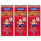 Boudreaux's Butt Paste Diaper Rash Ointment | Maximum Strength | 2 Oz | Pack of 3