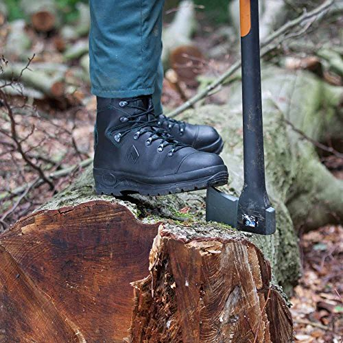 Black Pro with a Protector Leg Forest The Classic Haix Boot High UvqOF