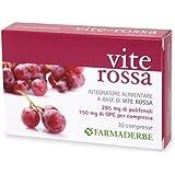 Farmaderbe Vite Rossa 30 Compresse