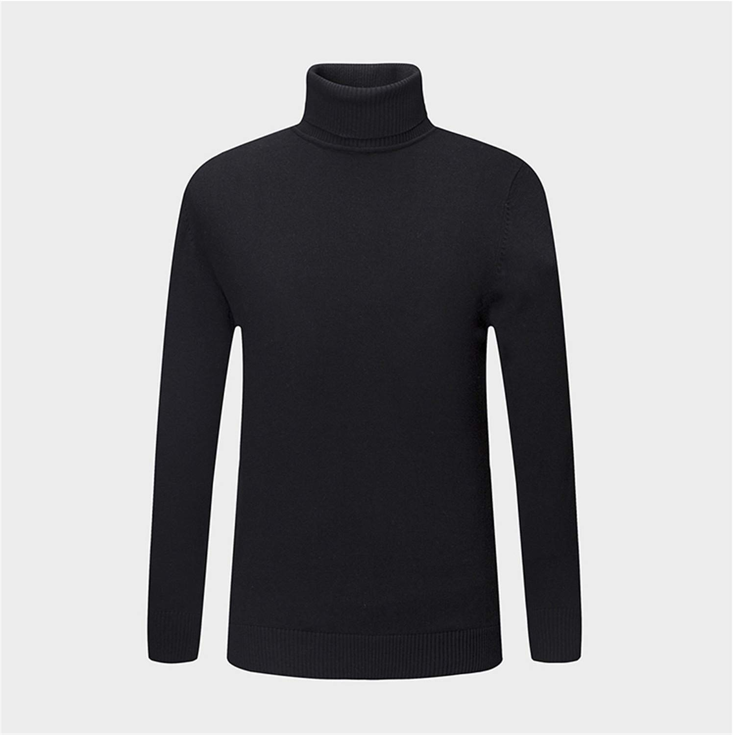 Winter Clothing Mens Sweaters Warm Slim Fit Turtleneck Men Pullover 100/% Cotton Knitted Sweater