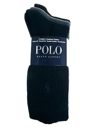 Ralph Lauren Pack-3 calcetines: Amazon.es: Ropa y accesorios