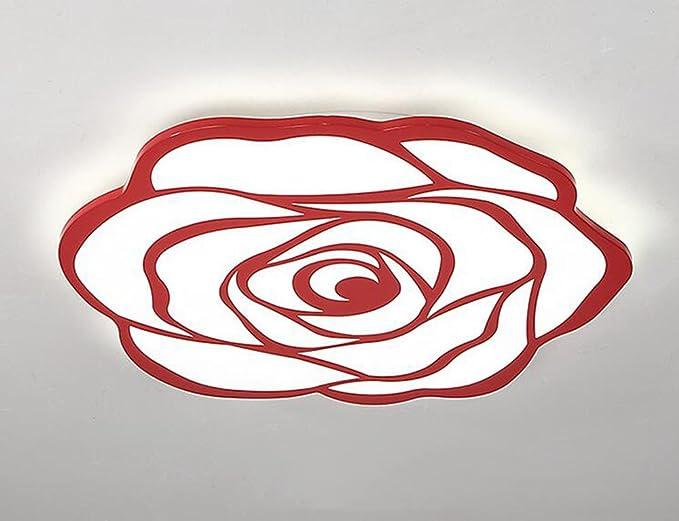 Lampadari Plafoniere Rosse : Fgsgz moderna camera da letto soggiorno creative luce soffitto
