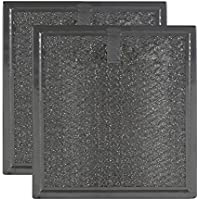 2 PACK Air Filter Factory Compatible Replacement For Samsung DE63-00666A Microwave Oven Aluminum Grease Filter