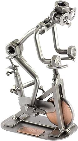 Steelman24 I Tuercas y Pernos Escultura Spinning Interior Ciclismo ...