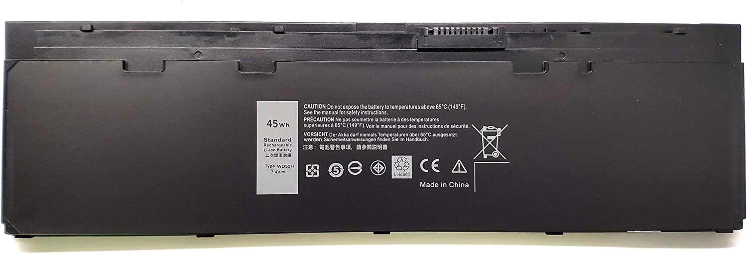 EndlessBattery New WD52H Replacement Laptop Battery Compatible with Dell Latitude E7240 E7250 KWFFN J31N7 GVD76 HJ8KP 451-BBFW 451-BBFX NCVF0 (45wh 7.4V)