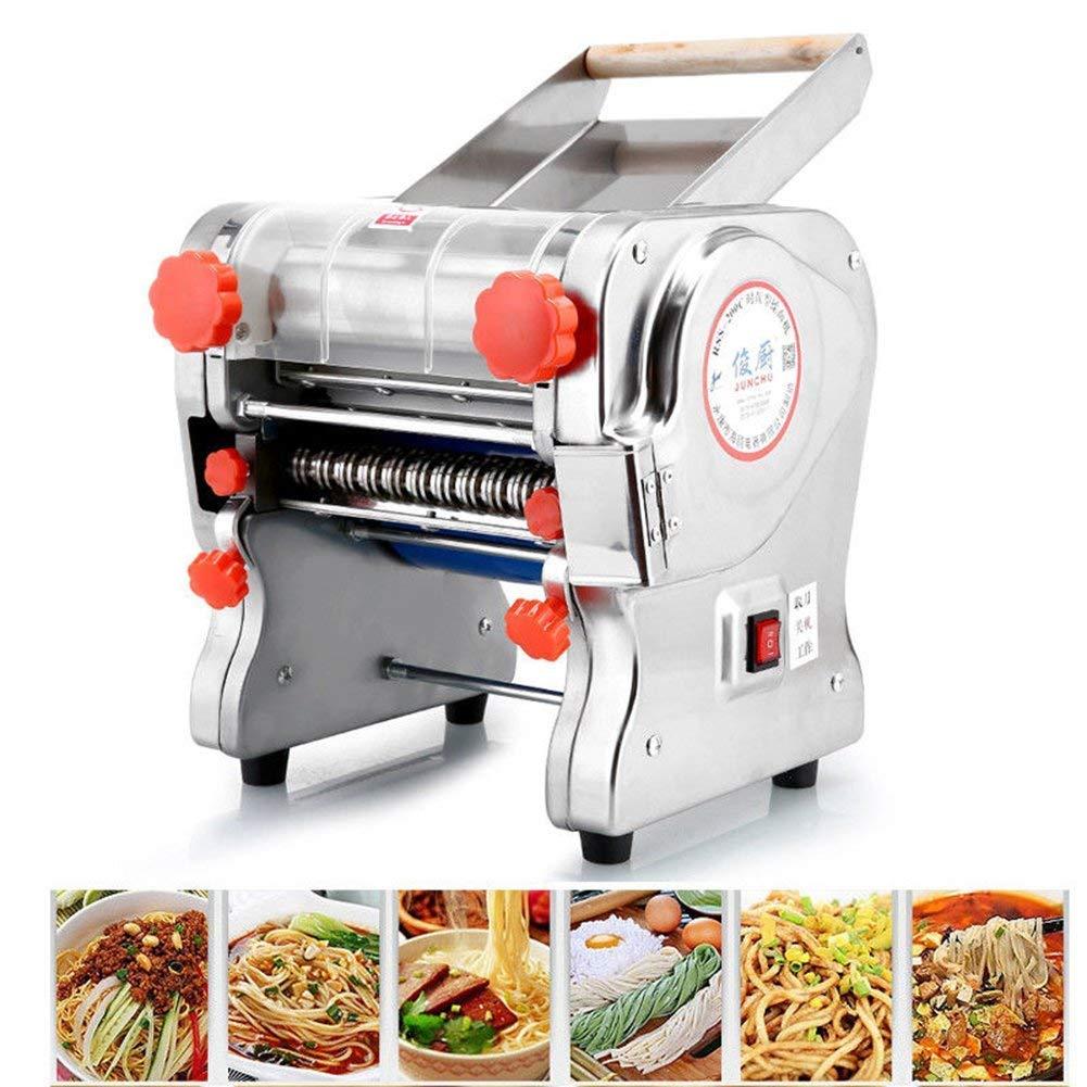 Hengwei 750W 220V Automatic Electric Pasta Machine Maker Press Noodles Machine Producing (Noodle Width 22CM,Knife Length 22cm,Noodle Width 3mm / 9mm) by ele ELEOPTION