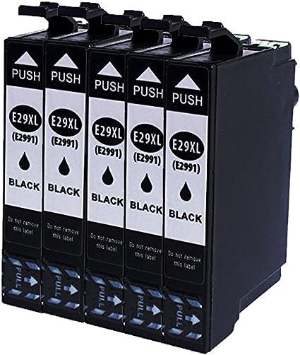 Teng® - Cartuchos de Tinta Epson 29 29XL Compatible con Epson XP ...