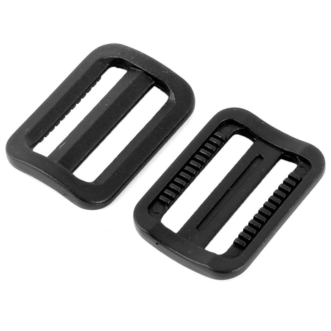 Amazon.com: eDealMax La Bolsa de plástico correas adjustive Conexión Tri Glide Hebilla Sujetador 10 piezas Negro