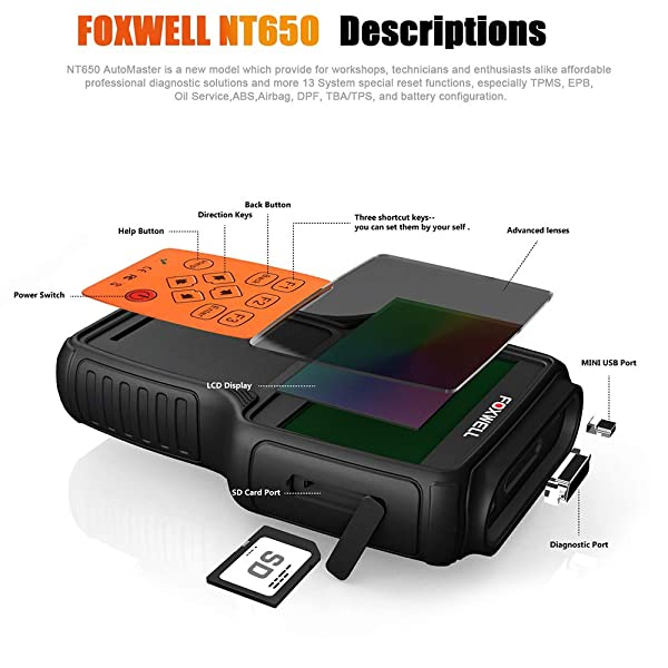 FOXWELL NT650 review