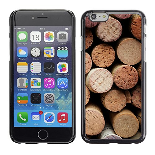 Premio Sottile Slim Cassa Custodia Case Cover Shell // V00001992 vin de Cork // Apple iPhone 6 6S 6G PLUS 5.5""