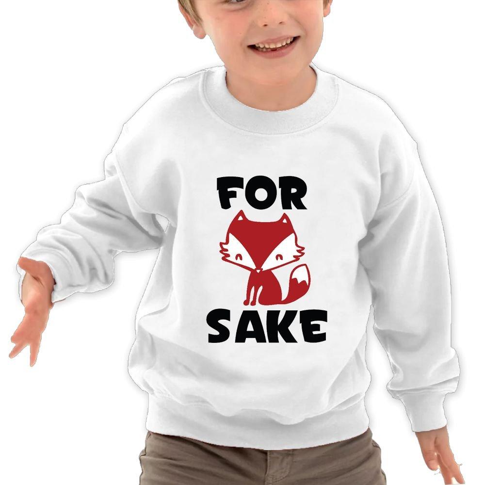 Mkajkkok Funny for Fox Sake Its Everyday Bro Kids Fashion Round Neck Long Sleeve T-Shirts