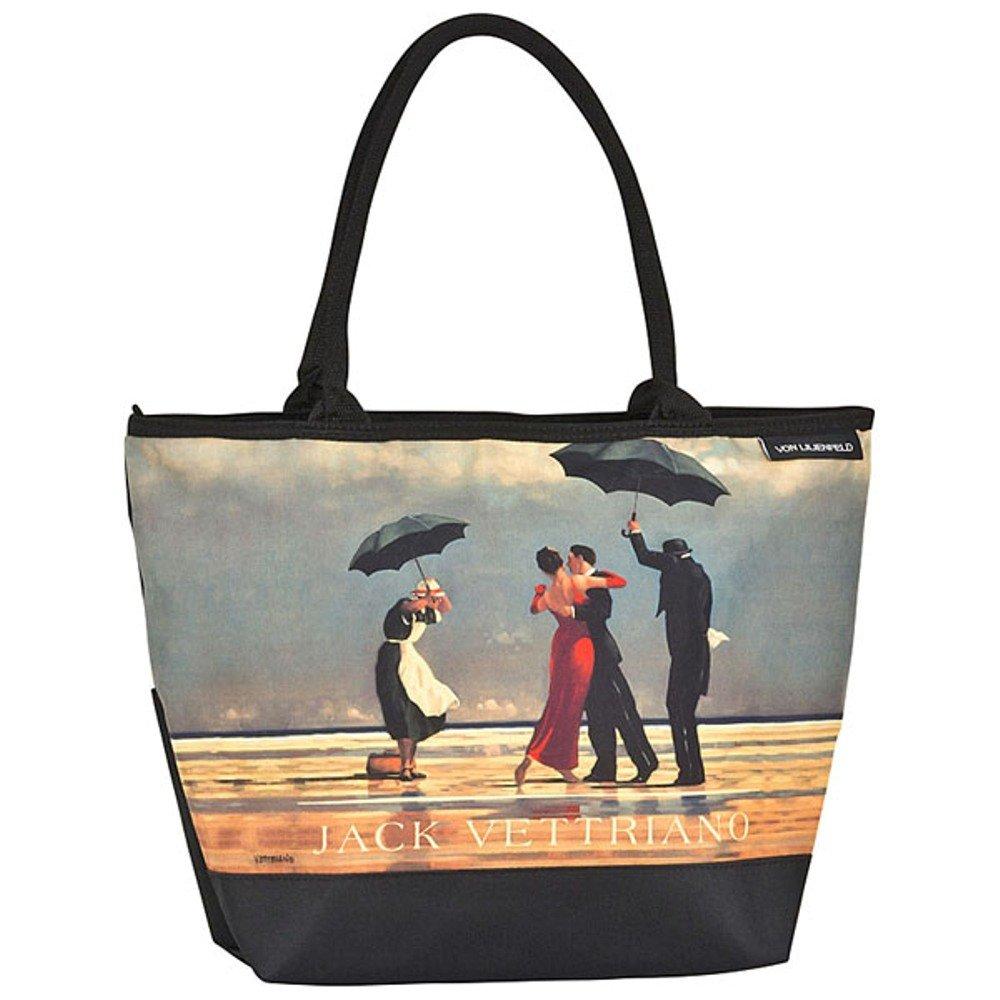 VON LILIENFELD® Borsa Shopping Donna Tracolla Saccoccia Arte Jack Vettriano: Singing Butler 4172