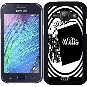 Funda para Samsung Galaxy J1 - Carta by LoRo-Design