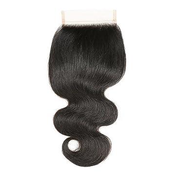 VRBest Brazilian Virgin Hair Body Wave Lace Closure 4