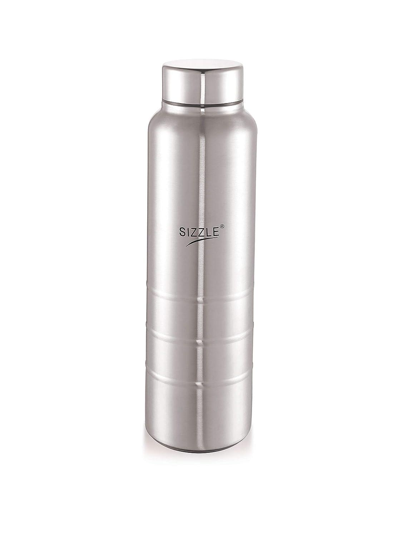 6c9e698b26bd Sizzle New Design Unbreakable Stainless Steel Leak Proof Fridge Water  Bottle, 1 pc, 750 ml, Silver