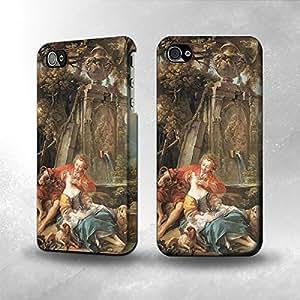 Apple iPhone 5 / 5S Case - The Best 3D Full Wrap iPhone Case - Francois Boucher An Autumn Pastoral
