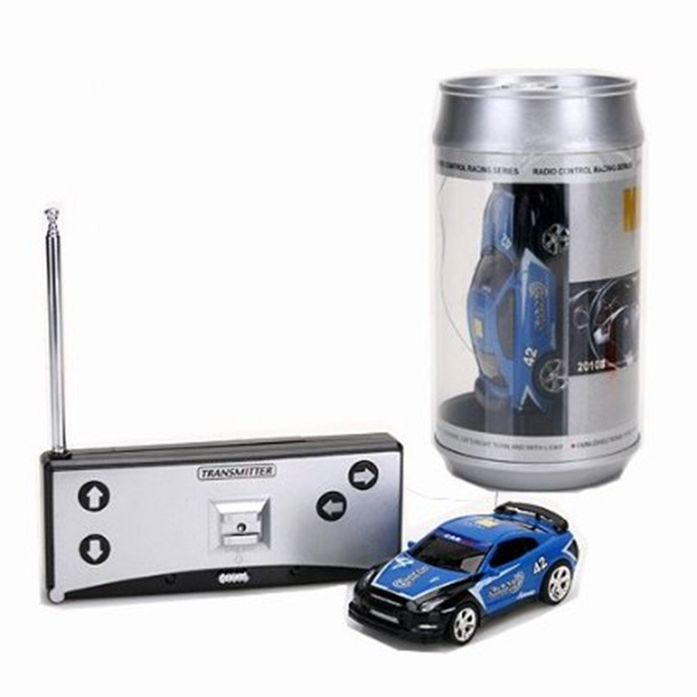 Amazon.com: Mini 1:58 Coke Can RC Radio Remote Control Race Racing ...