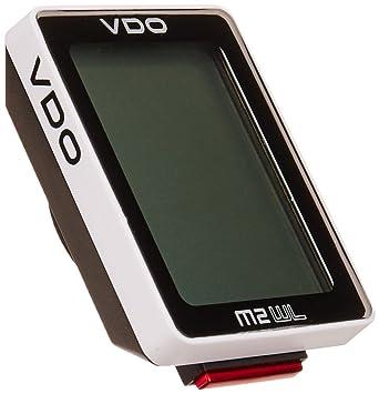 6064dc975 Vdo M2 Wireless Cycle - Ciclocomputador, multicolor (blanco/negro):  Amazon.es: Deportes y aire libre