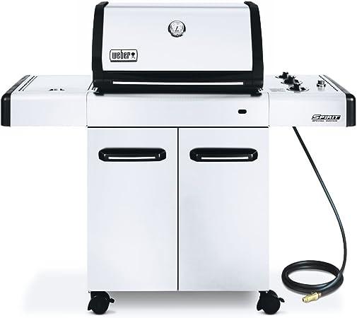 Amazon Com Weber Spirit Natural Gas Grill Sp 320 10 36000 Btu 536 Sq In Lp Garden Outdoor