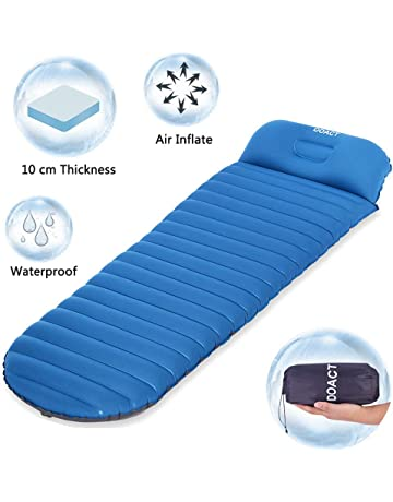 DOACT Sleeping Pad para Acampar y Portable Saco de Dormir Ultraligero Ideal para Escalada Excursiones de