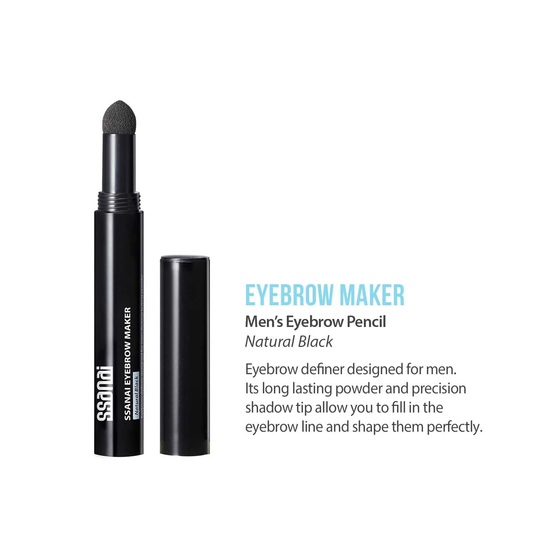 Amazon Ssanai Eyebrow Maker Unisex Natural Black Eyebrow