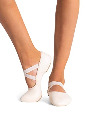 ce8b6494a00 Amazon.com   Capezio Hanami Leather Ballet Shoe   Clothing