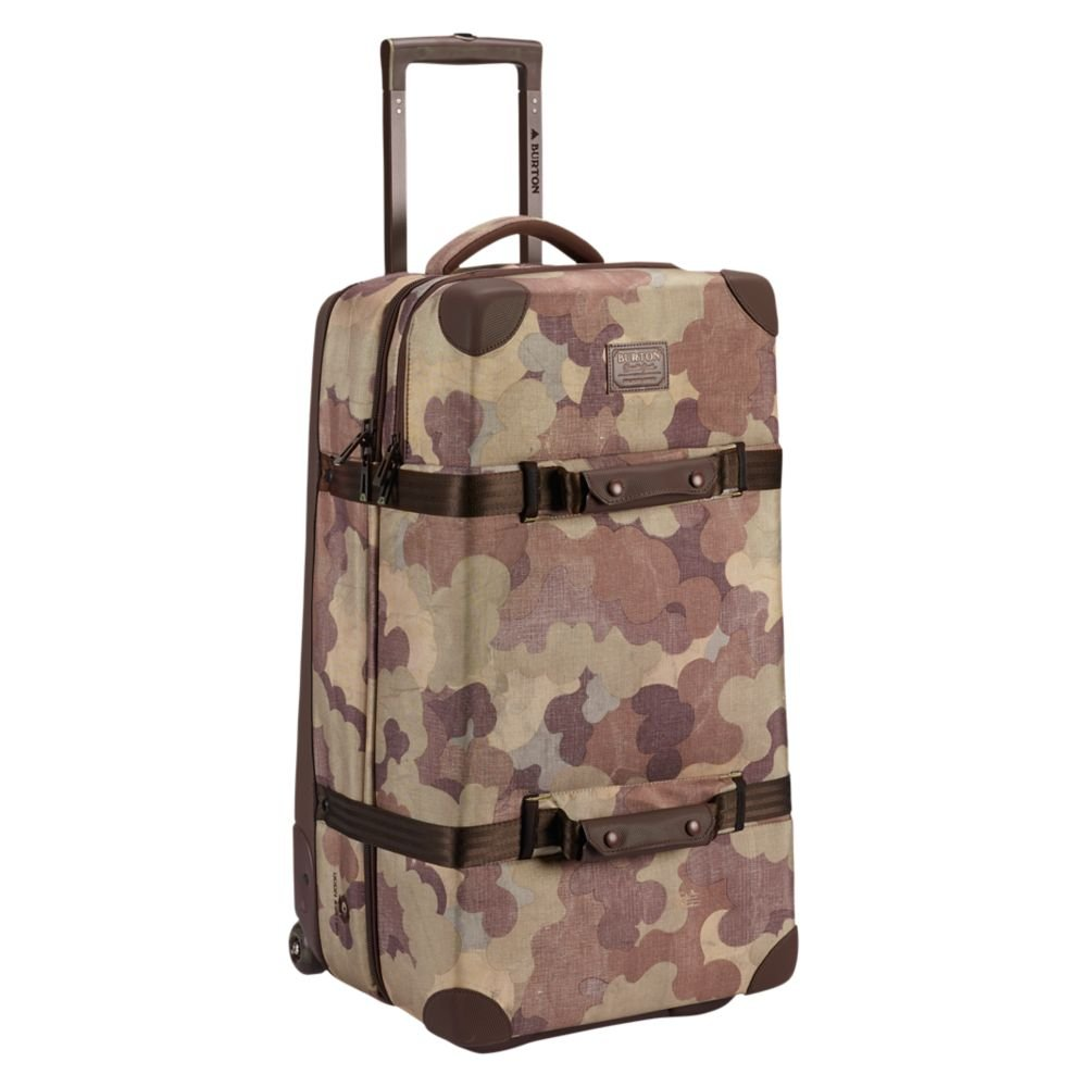 Burton Wheelie Double Deck Travel Bag/Luggage, Storm Camo Print