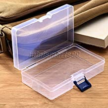 Transparent Clear Plastic Storage Box Cosmetics Jewelry Collection Cassette Cover Home Storage Organization Storage Boxes & Bins