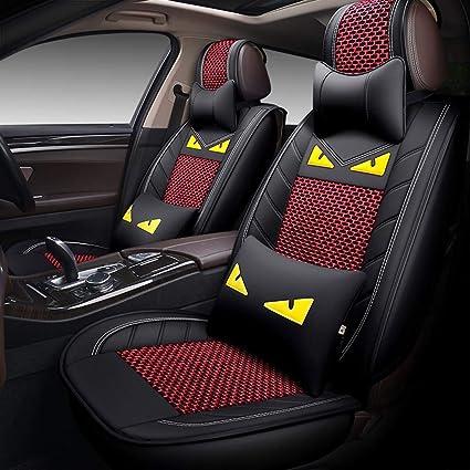 Universal fundas para asientos beige para Skoda Octavia i asiento del coche ya referencias referencias set