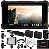 "Atomos Ninja Inferno 7"" 4K HDMI Recording Monitor 12PC Bundle – Includes SanDisk 240GB Extreme Pro Solid State Drive + 2x Replacement Batteries + MORE"