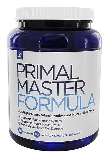 Amazon primal blueprint master formula multivitamin primal blueprint master formula multivitamin supports immunity cognitive function increased energy malvernweather Gallery