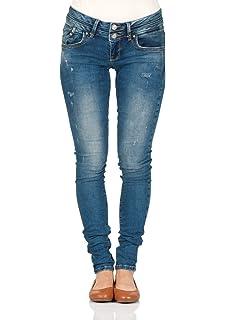 LTB Damen Jeans Julita X Extra Skinny Fit - Blau - Aviola Wash 4837c93ba1