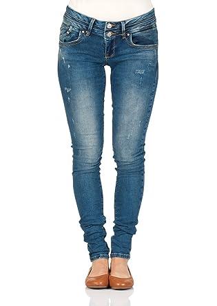 LTB Damen Jeans Julita X Extra Skinny Fit - Blau - Aviola Wash  Amazon.de   Bekleidung 5305004281