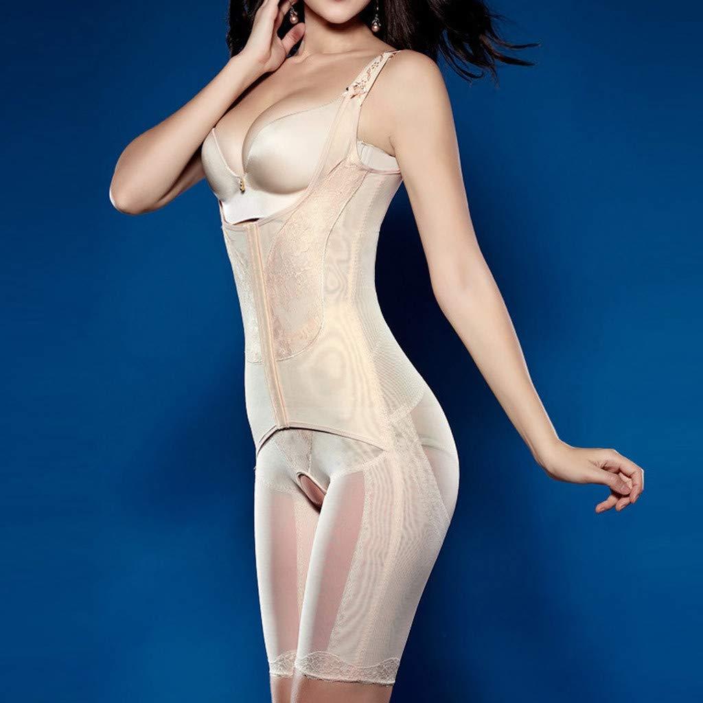 chuxin huang/_Shapewear Womens Shapewear Bodysuit High Waist Tummy Control with Compression Shorts Bodysuit