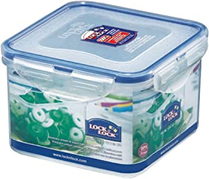 LOCK & LOCK Airtight Square Food Storage Container 29.08-oz / 3.64-cup