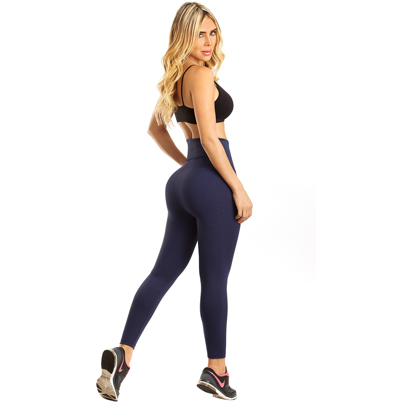 1f219bb8f8 LT.Rose 21840 High Waisted Workout Yoga Leggings Butt Lift Compression Pants  at Amazon Women s Clothing store