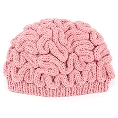 LZWIN Creative Hand Made Brain Knitted Hat Unique Thinking Cap by LZWIN