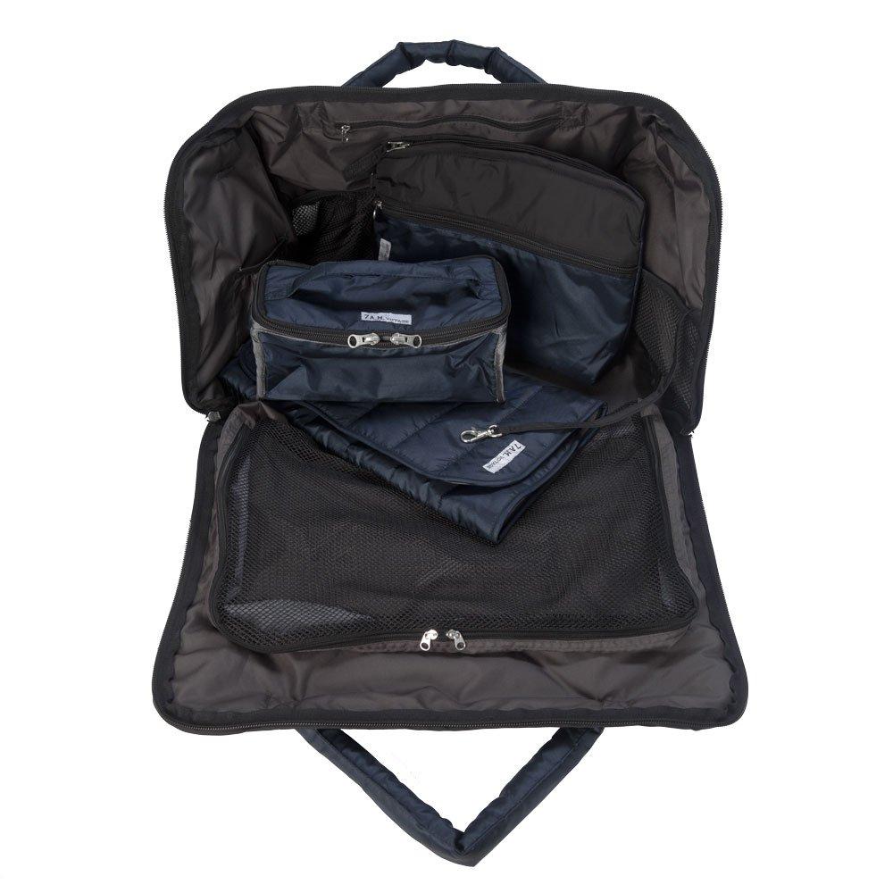 7AM Enfant Voyage Diaper Bag, Metallic Prussian Blue, Large by 7AM Enfant (Image #2)