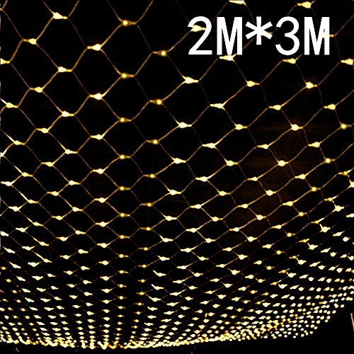 BATOP 2mx3m 204 led 8 Modes 220v Super Bright net mesh String Light Xmas Christmas Light New Year Garden Lawn Wedding Holiday Lighting