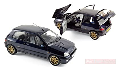 NOREV NV185230 Renault Clio Williams 1993 Blue (REEDITION) 1:18 Die Cast Model