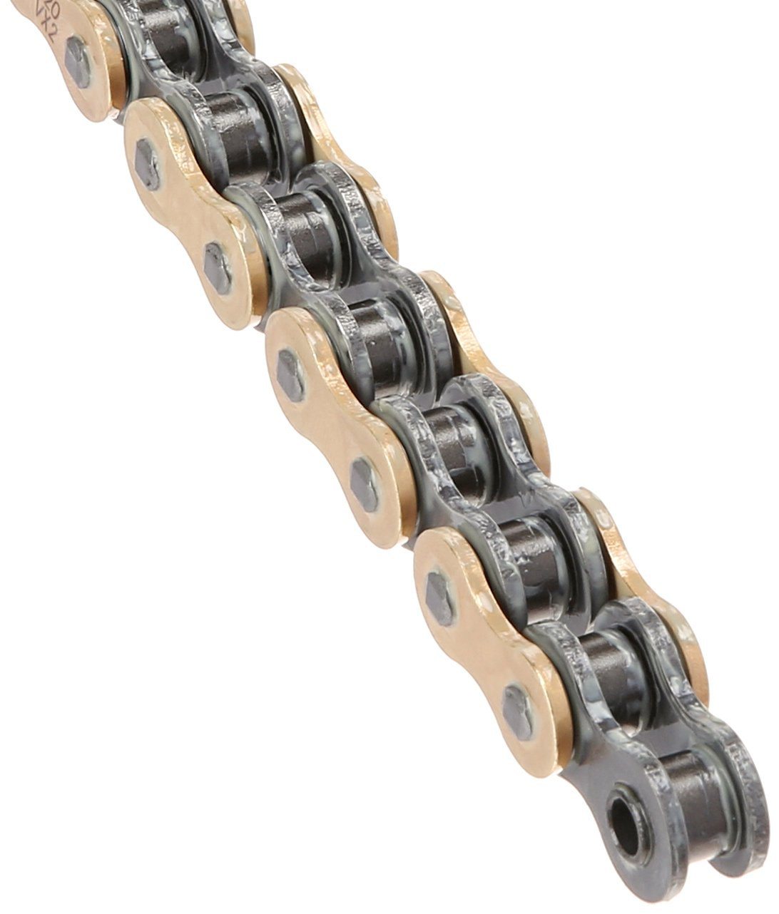 DID 520VX2GB-114 Gold X-Ring Chain with Connecting Link