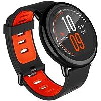 Amazfit Pace Black Pulsera Inteligente con Ritmo Cardíaco y GPS, Negro