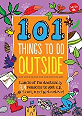 From animal tracking and survival skills to using a compass and growing vegetables, 101 Things to Do Outside is the perfect guide for young explorers and aspiring adventurers longing for a taste of the great outdoors. Right ou...