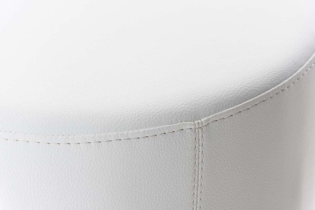 2 x Sgabelli da bar Zeta Hoker Altezza totale 83 cm Bianco.