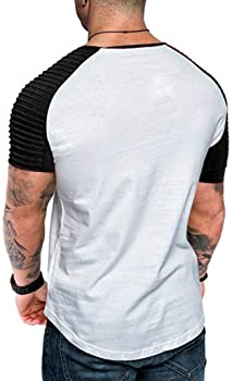 Berimaterry Camisetas Hombre Originales Manga Corta Verano Moda Color de Hechizo Bolsillo Polos Personalidad Casual Remera Slim Camisas O culleo Hombre Verano Camisas Hombre Tops Hombre Blusa: Amazon.es: Ropa y accesorios
